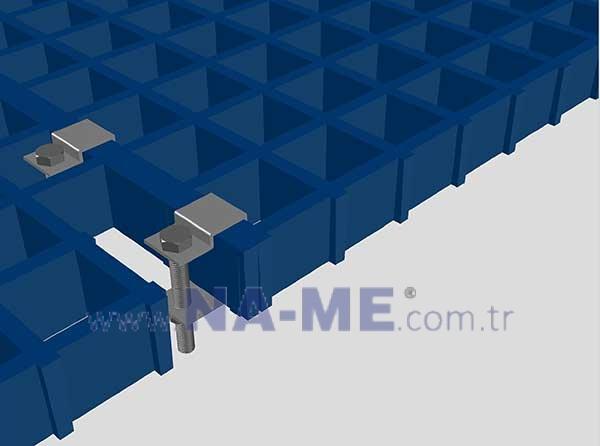 C Type Metal Fixings in Turkey